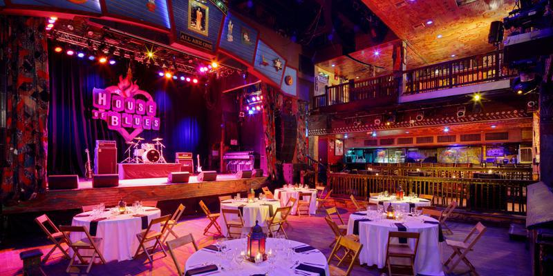 House of Blues Sunset Strip wedding Los Angeles