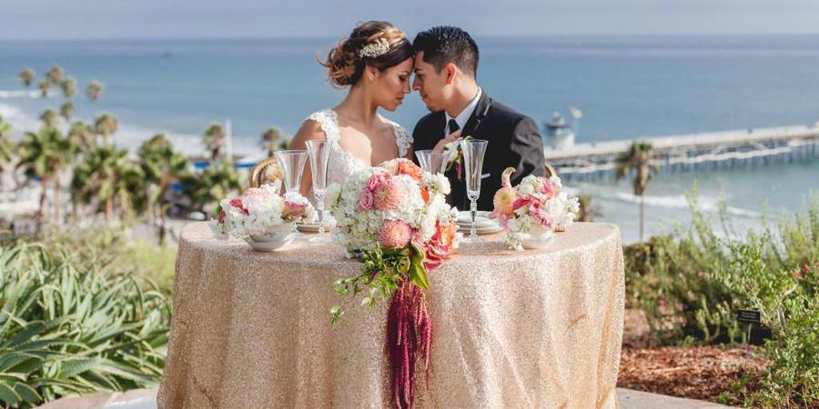 Casa Romantica Cultural Center & Gardens wedding Orange County