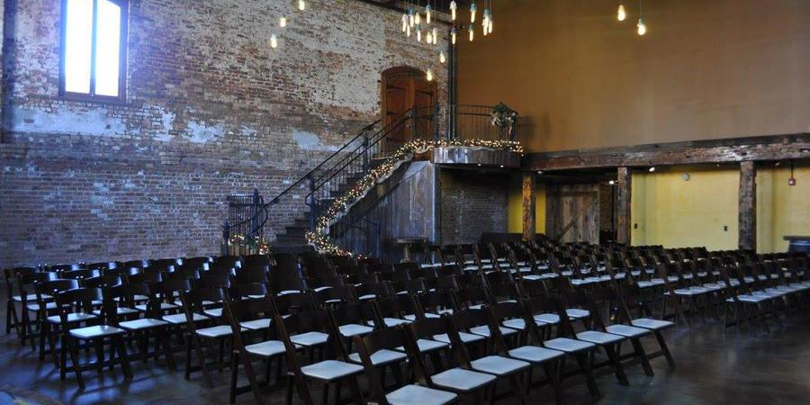 The Old Cigar Warehouse wedding Greenville