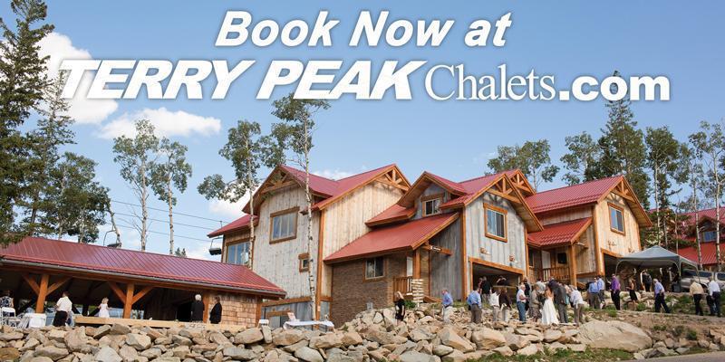 Terry Peak Chalets wedding South Dakota