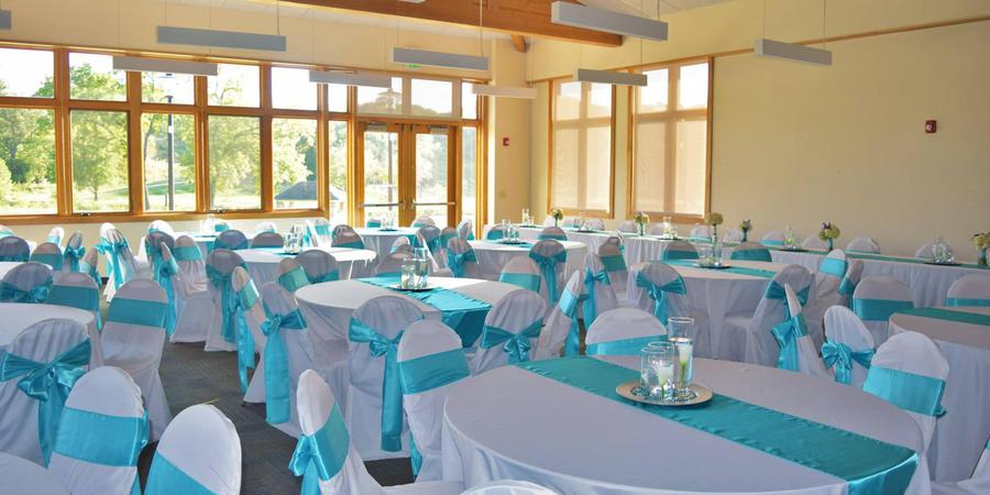 The Elmridge Room at Tomahawk Hills Golf Course wedding Kansas City