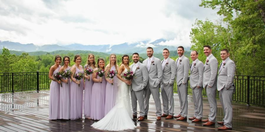 Above the Mist Estate Ceremonies wedding Gatlinburg
