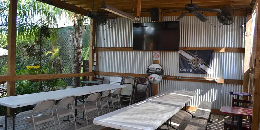 Bayou Beer Garden wedding New Orleans
