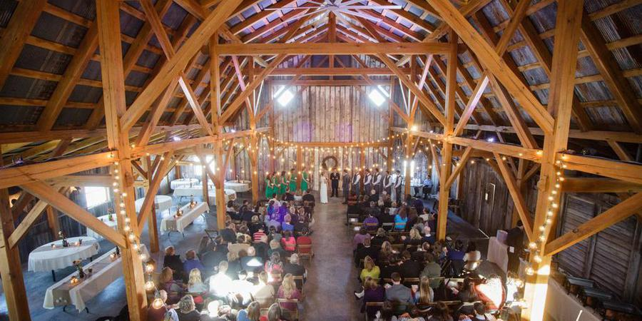 Schwinn Farm Event Barn wedding Kansas City