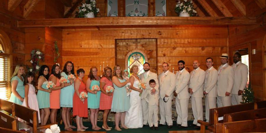 Chapel in the Glen wedding Knoxville