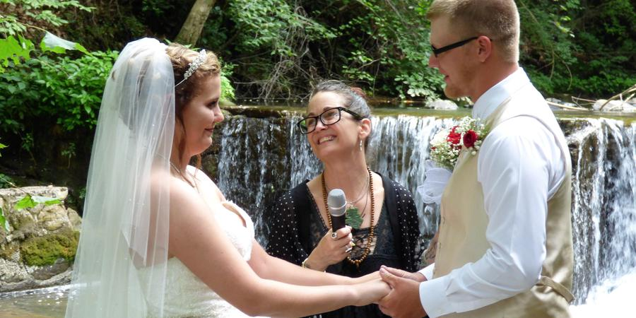Friendly Falls wedding Knoxville