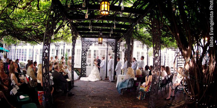 The Court of Two Sisters wedding New Orleans