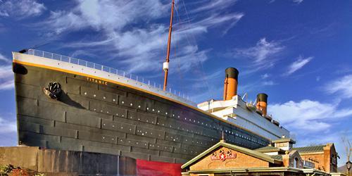 Titanic Museum wedding Knoxville