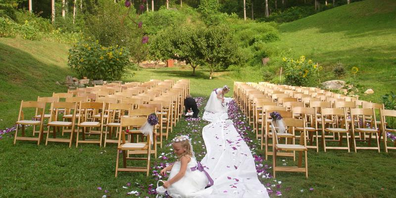 Brahma Ridge Event Center wedding Asheville