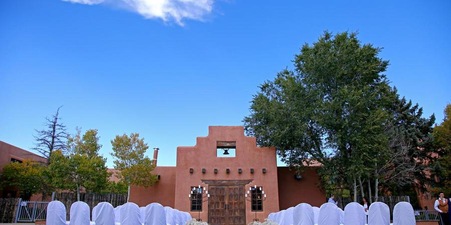 The Lodge at Santa Fe wedding New Mexico