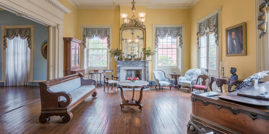Beauregard-Keyes House wedding New Orleans