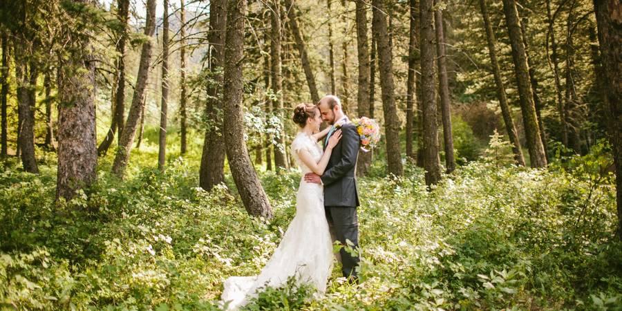 The Woodlands at Cottonwood Canyon wedding Montana
