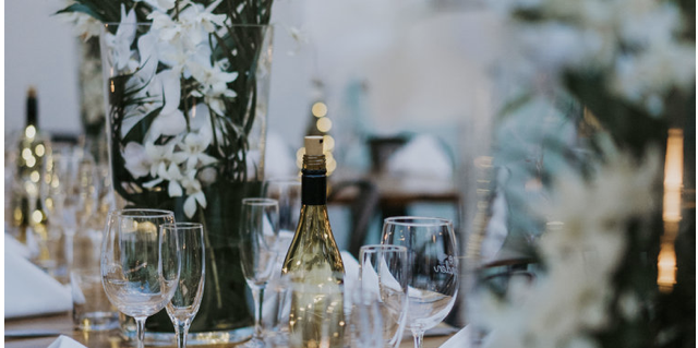 Wine + Garden wedding Miami
