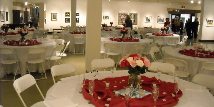 The Wichita Center for the Arts wedding Wichita