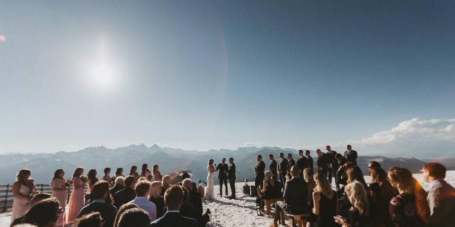 Mammoth Mountain - Top of the Mountain wedding Yosemite