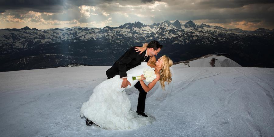 Mammoth Mountain - Top of the Mountain/Top of the Sierra wedding Yosemite