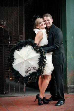 Petite Bourbon wedding New Orleans