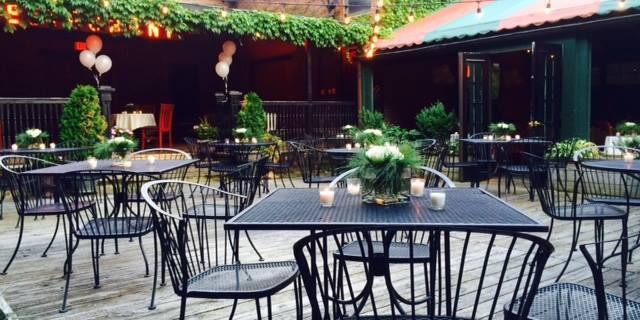 Halvorson's Upstreet Café wedding Vermont