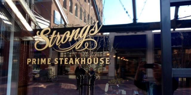 EB Strong's Prime Steak House wedding Vermont