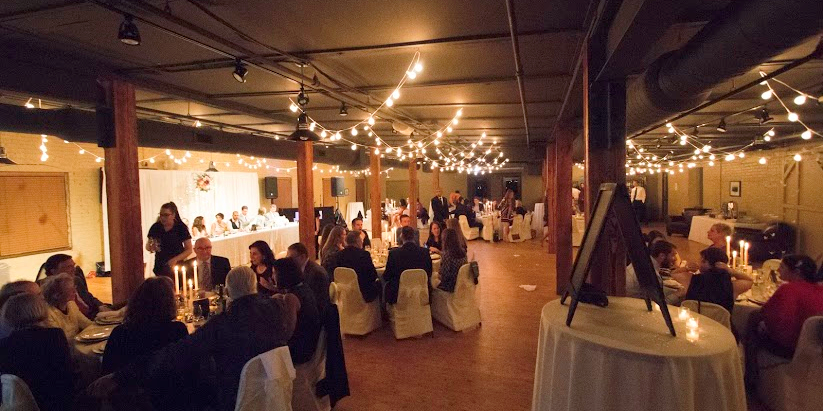 The Old Mattress Factory wedding Nebraska