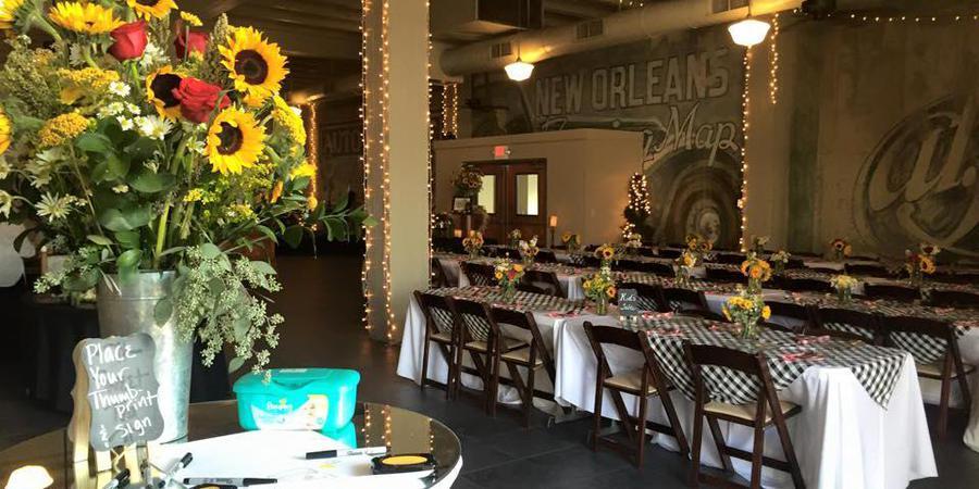 Silver Lake Ballroom wedding Northern Louisiana