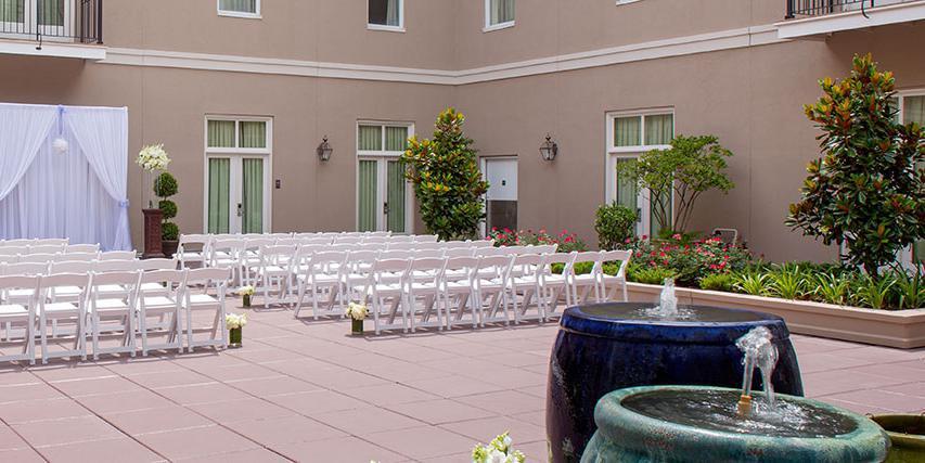Hyatt French Quarter wedding New Orleans