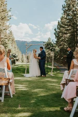 Mammoth Mountain - Sierra Star Golf Course wedding Yosemite