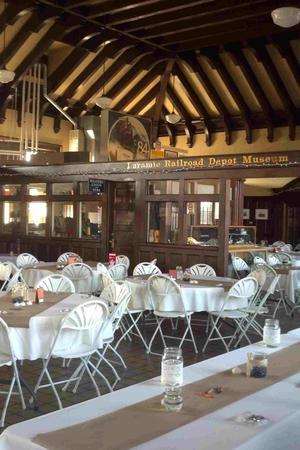 Laramie Historic Railroad Depot wedding Wyoming