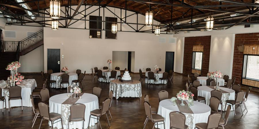 Campbell Hotel Ballroom wedding Tulsa