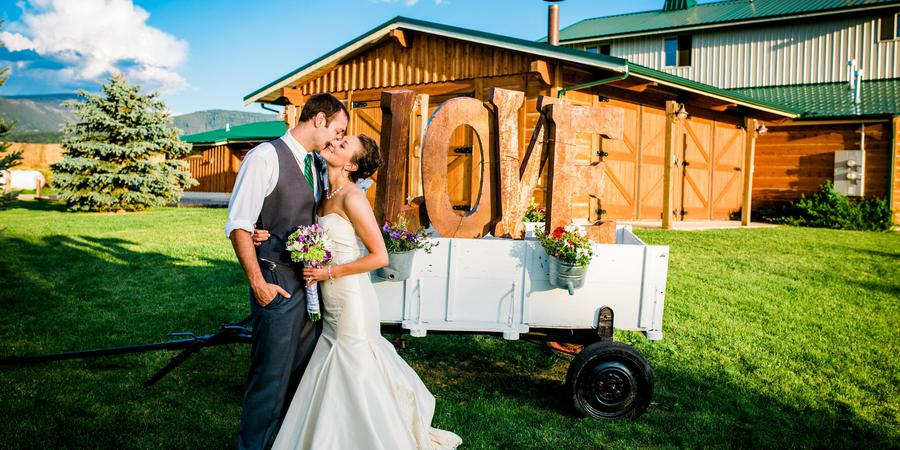 Hart Ranch Weddings and Events wedding Montana