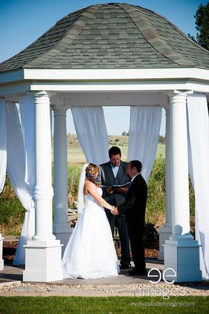 Chancey's Event Center wedding Montana