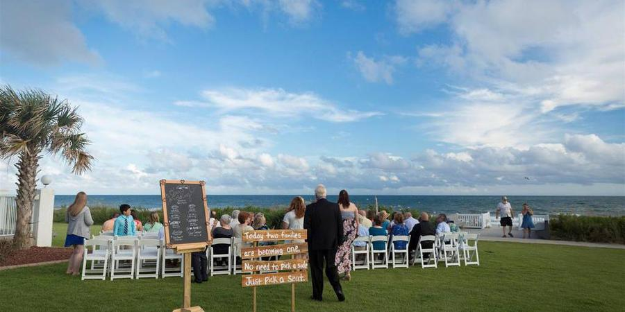 The Islander Hotel and Resort wedding Outer Banks