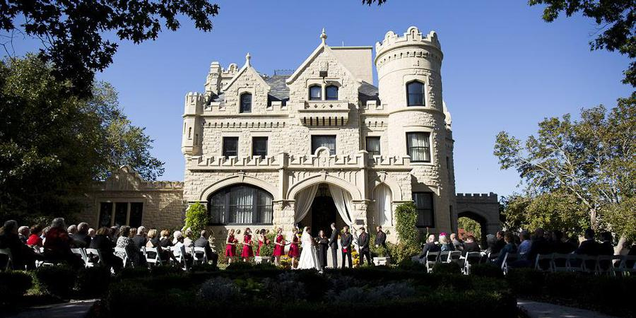 Joslyn Castle wedding Nebraska