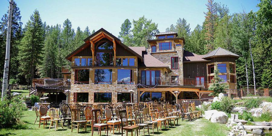 Talus Rock Retreat wedding Idaho