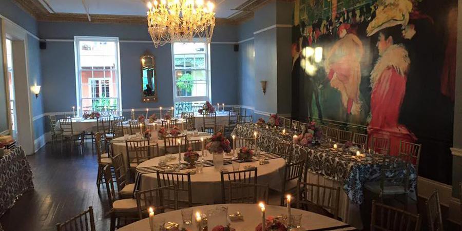 The Paris Room wedding New Orleans