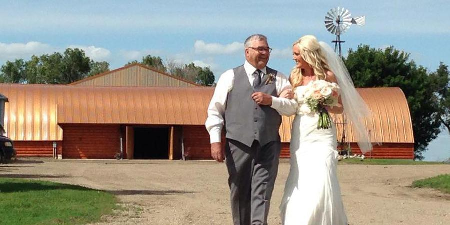 Black Leg Ranch wedding North Dakota