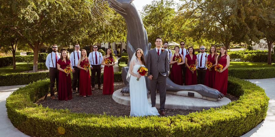 Sculpterra Winery and Garden wedding Central Coast
