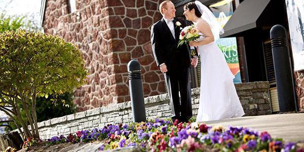 Walters Cultural Arts Center wedding Portland
