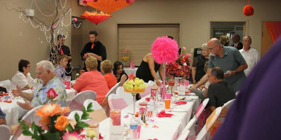 Meadows Community Center wedding Nebraska
