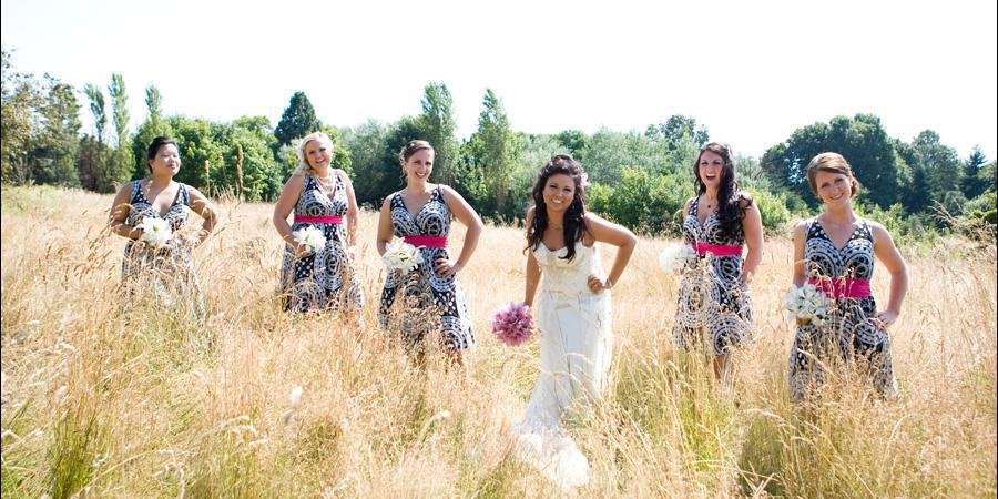 Discovery Park North Meadow wedding Seattle