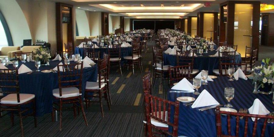 Jack Roth Stadium Club - Michigan Stadium wedding Detroit