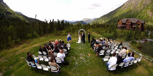 Inn at Tern Lake wedding Alaska