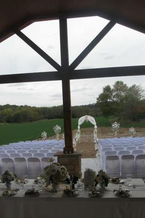 Heritage Hall at Slattery Vintage Estates wedding Nebraska