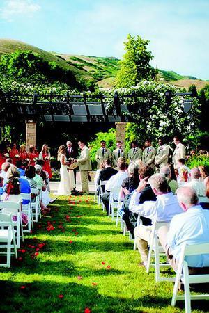 Rose House - Red Butte Garden wedding Salt Lake City