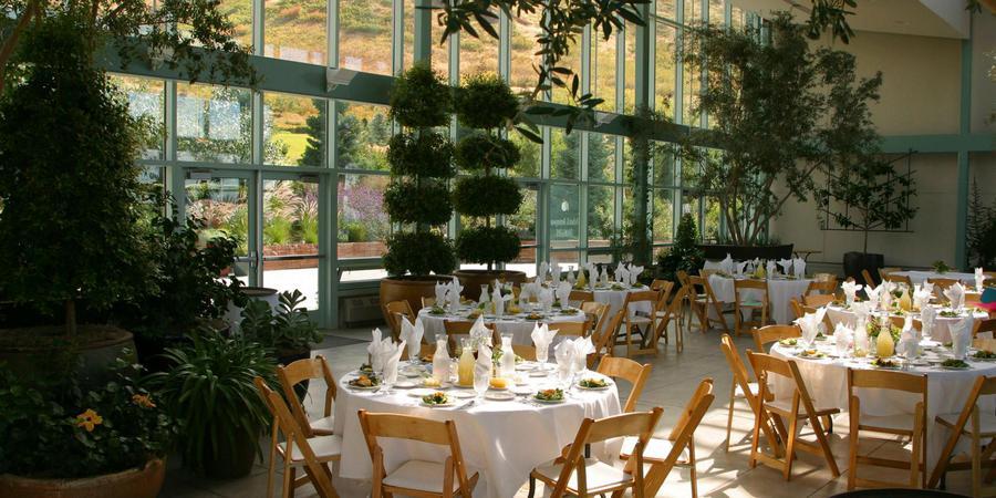 Orangerie - Red Butte Garden wedding Salt Lake City