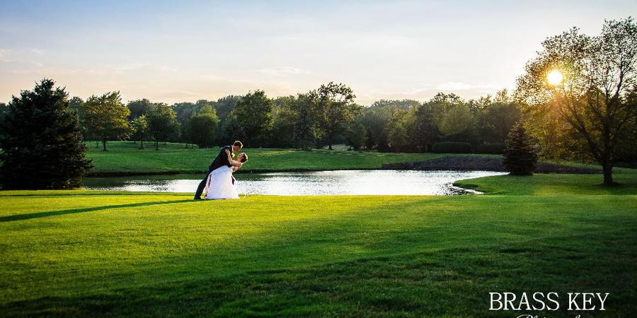 St. Denis Golf Club and Party Center wedding Cleveland