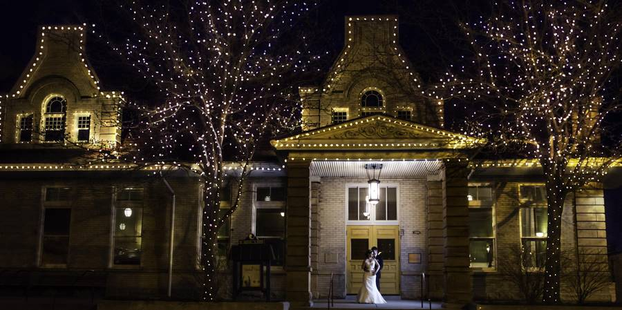 The Historic Billings Depot wedding Montana