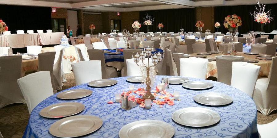 The L.V. Eberhard Center at Grand Valley State University wedding Grand Rapids