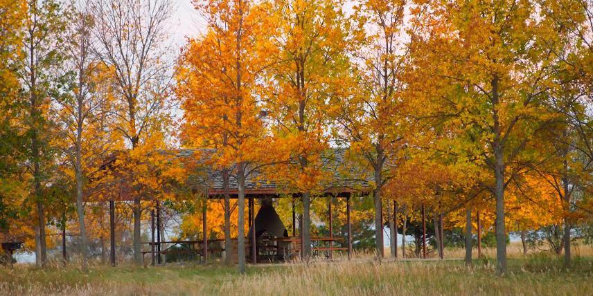 Lake Sakakawea State Park wedding North Dakota