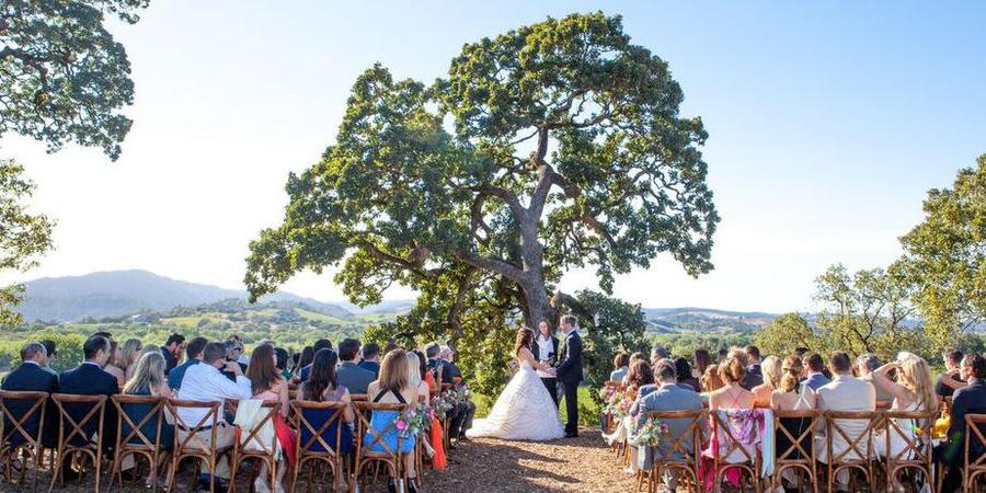 Copain Wines, a Milestone property wedding Napa/Sonoma